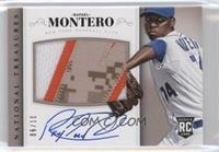 Rookie Material Signatures - Rafael Montero #/10