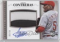Rookie Material Signatures - Carlos Contreras #/10