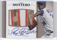 Rookie Material Signatures - Rafael Montero #/25