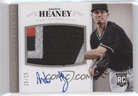 Rookie Material Signatures - Andrew Heaney #/25