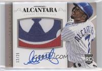 Rookie Material Signatures - Arismendy Alcantara #/25