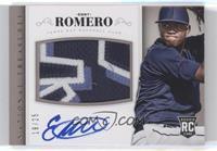 Rookie Material Signatures - Enny Romero #/25