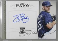 Rookie Signatures - James Paxton [Noted] #/25