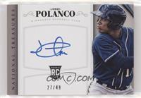 Rookie Signatures - Jorge Polanco #/49