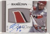 Rookie Material Signatures - Billy Hamilton #/99