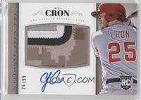 Rookie Material Signatures - C.J. Cron #/99