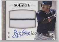 Rookie Material Signatures - Yangervis Solarte #/99