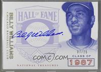 Billy Williams [Noted] #/25