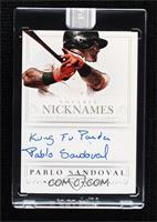 Pablo Sandoval #/1