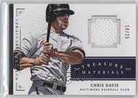 Chris Davis #/25