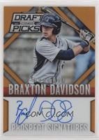 Braxton Davidson #/60