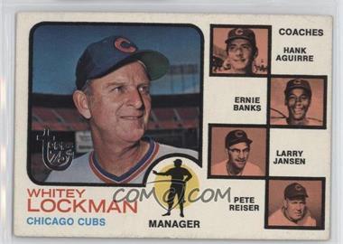2014 Topps - 75th Anniversary Buybacks #1973-81 - Cubs Field Leaders (Whitey Lockman, Hank Aguirre, Ernie Banks, Larry Jansen, Pete Reiser)