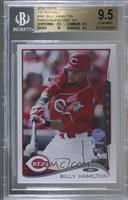 Billy Hamilton (Hitting) [BGS 9.5 GEM MINT] #/10
