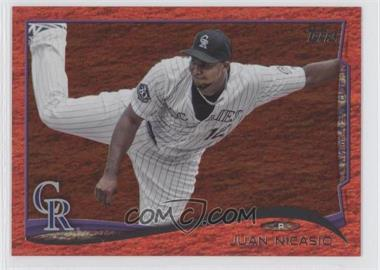 2014 Topps - [Base] - Red Hot Foil #13 - Juan Nicasio