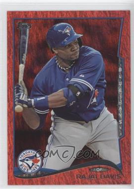 2014 Topps - [Base] - Red Hot Foil #165 - Rajai Davis
