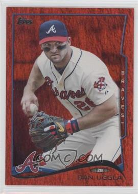 2014 Topps - [Base] - Red Hot Foil #365 - Dan Uggla