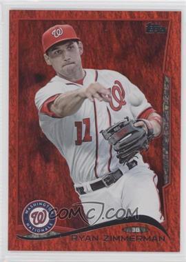 2014 Topps - [Base] - Red Hot Foil #378 - Ryan Zimmerman