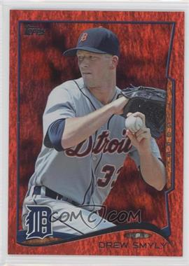 2014 Topps - [Base] - Red Hot Foil #381 - Drew Smyly