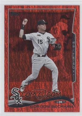 2014 Topps - [Base] - Red Hot Foil #403 - Gordon Beckham