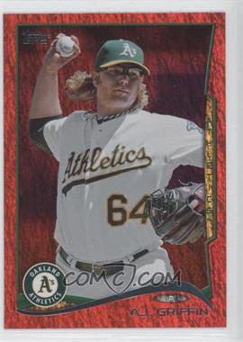 2014 Topps - [Base] - Red Hot Foil #410 - A.J. Griffin