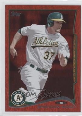 2014 Topps - [Base] - Red Hot Foil #471 - Brandon Moss
