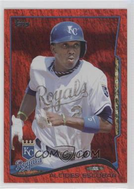 2014 Topps - [Base] - Red Hot Foil #514 - Alcides Escobar