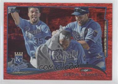 2014 Topps - [Base] - Red Hot Foil #594 - Justin Maxwell