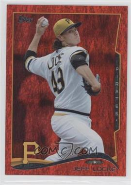 2014 Topps - [Base] - Red Hot Foil #608 - Jeff Locke