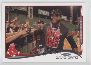 2014 Topps - [Base] #475.3 - David Ortiz (Goggles on Head)