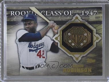2014 Topps - Class Rings - Gold Gems #CR-18 - Jackie Robinson /25