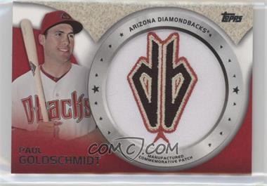 2014 Topps - Manufactured Commemorative Patch #CP-29 - Paul Goldschmidt