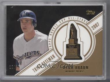 2014 Topps - Rookie Cup All-Stars Commemorative - Vintage #RCAS-16 - Ryan Braun /25