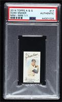 Duke Snider [PSA Authentic] #/1