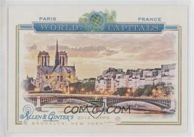 2014 Topps Allen & Ginter's - The World's Capitals #WC-09 - Paris, France