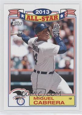 2014 Topps Archives - 1987 Topps All-Stars #87-MC - Miguel Cabrera