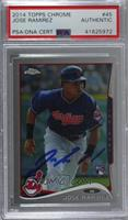 Jose Ramirez [PSA/DNA Certified Encased]