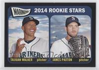 Rookie Stars - 2014 Rookie Stars (Taijuan Walker, James Paxton)