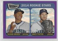 2014 Rookie Stars (Taijuan Walker, James Paxton)