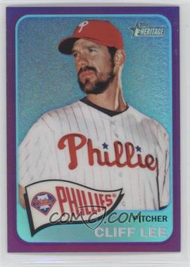 2014 Topps Heritage - [Base] - Chrome Purple Refractor #THC-20 - Cliff Lee