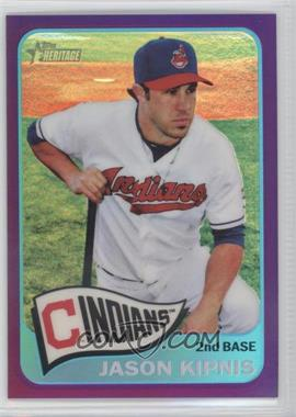 2014 Topps Heritage - [Base] - Chrome Purple Refractor #THC-448 - Jason Kipnis