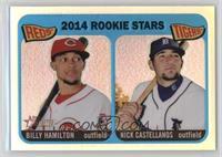2014 Rookie Stars (Billy Hamilton, Nick Castellanos) #/565
