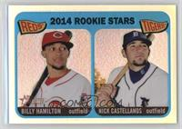 2014 Rookie Stars (Billy Hamilton, Nick Castellanos) #/565