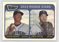 2014 Rookie Stars (Taijuan Walker, James Paxton) /565