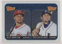 2014 Rookie Stars (Billy Hamilton, Nick Castellanos) #/999