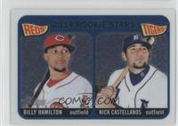 2014 Rookie Stars (Billy Hamilton, Nick Castellanos) #/999