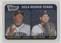 2014 Rookie Stars (Taijuan Walker, James Paxton) /999