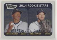 2014 Rookie Stars (Taijuan Walker, James Paxton) #/999