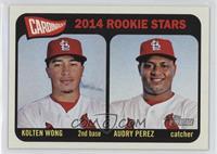 2014 Rookie Stars (Kolten Wong, Audry Perez)