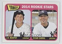 Rookie Stars - J.R. Murphy, Cesar Cabral