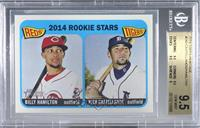 2014 Rookie Stars (Billy Hamilton, Nick Castellanos) [BGS 9.5 GEM&nbs…